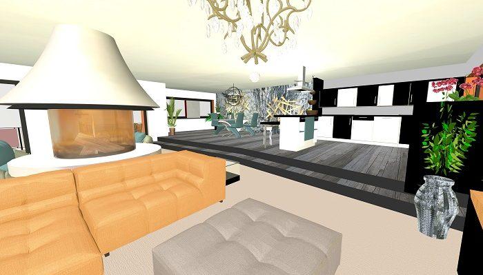 3.OG-Blick 2 W3-Neubau